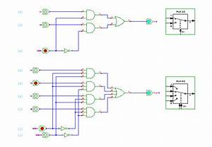 Multiplexer Circuits  2 1 And 4 1
