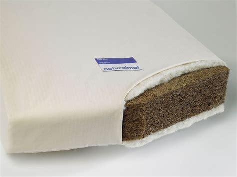 organic baby mattress coco mat organic crib mattress by mat