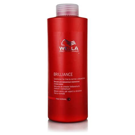 conditioner for colored hair wella professionals brilliance conditioner for