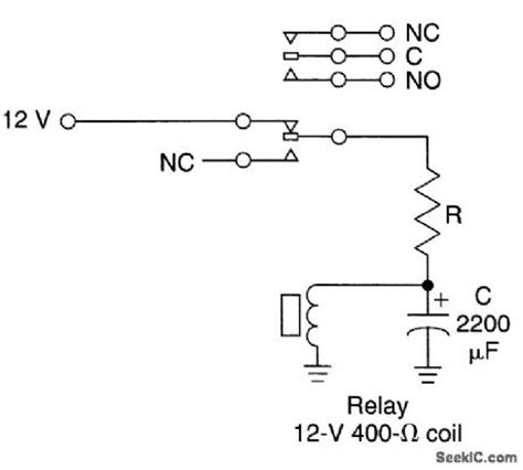 Low Frequency Relay Oscillator Circuit