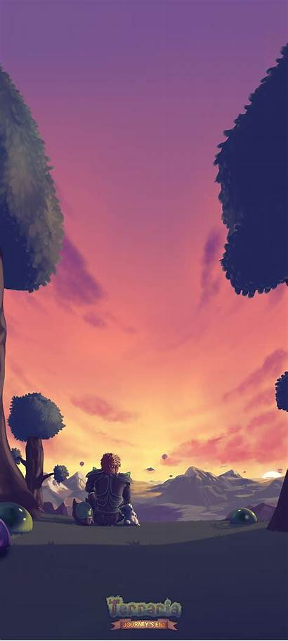 Terraria Mobile Sunset Logic Wallpapers Re Pc