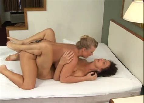 Milf Lesbians Have Missionary Strapon Sex Milf Porn