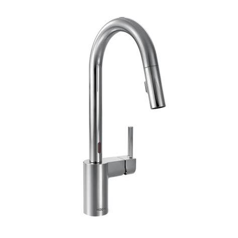 moen motionsense kitchen faucets 7565ec moen align series motionsense kitchen faucet chrome