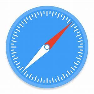 Safari 1 Icon | Button UI System Apps Iconset | BlackVariant