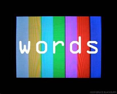 Words Word Animated Animation English Study Themes