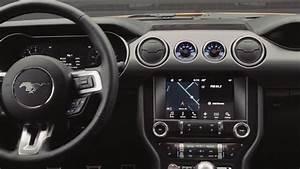2018 Ford Mustang el Interior con dashboard digital - YouTube