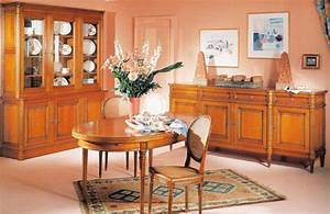 salle a manger louis xvi merisier meubles hummel With meuble de salle a manger avec salle a manger merisier