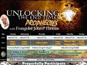 Prophecy End Times Events