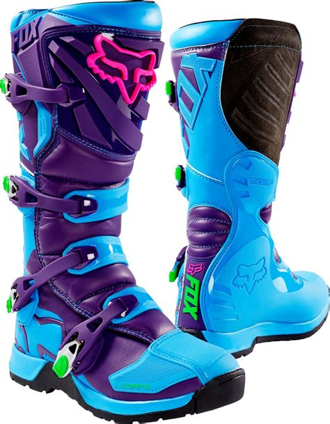 motocross boots closeout fox racing mens special edition comp 5 vicious mx