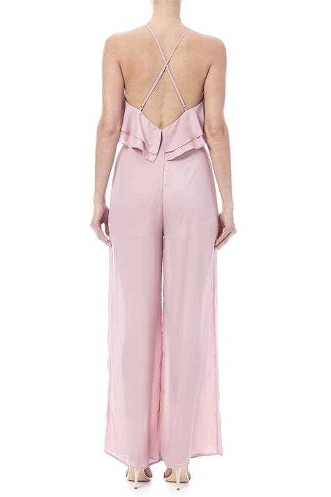 pink jumpsuits hommage pink jumpsuit from jersey by la boutique de