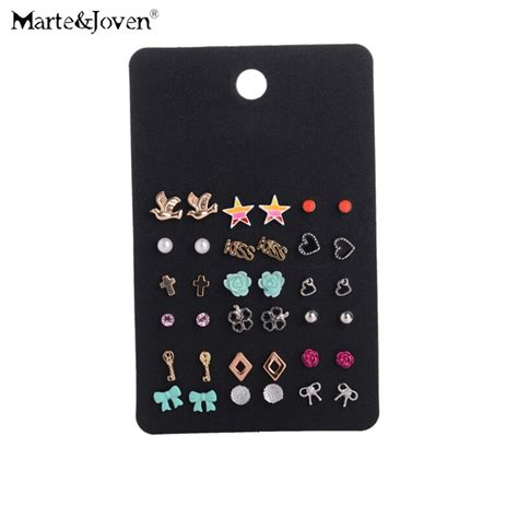 wholesale fashion accessories cheap stud earring sets