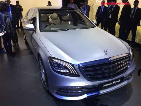 auto expo mercedes maybach  launched  rs rs