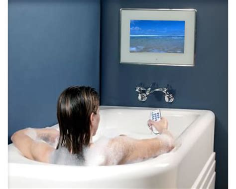 bathroom tv ideas tv in bathroom