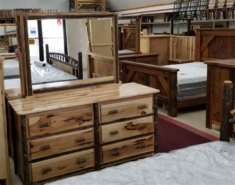 hickory  drawer dresser black river furniture outlet