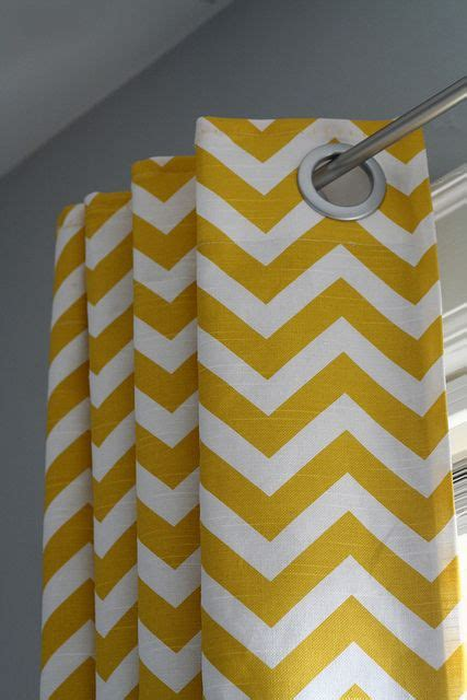 chevron curtains i think this would look perfect in my