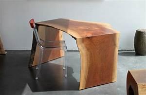 Bureau Bois Brut : les meubles bois brut la tendence et le style nature sont l ~ Melissatoandfro.com Idées de Décoration