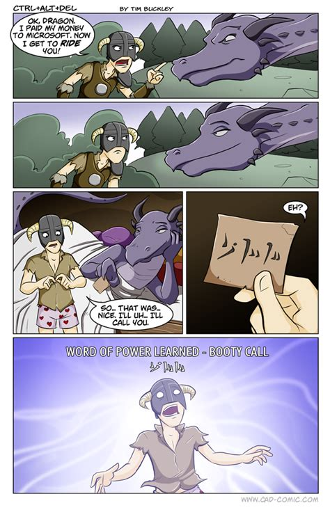 How To Ride Your Dragon Skyrim Comics Gallery Elder