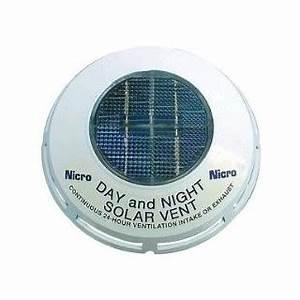 Extracteur D Air Solaire : extracteur d 39 air solaire jour nuit 20m3 h ~ Dailycaller-alerts.com Idées de Décoration