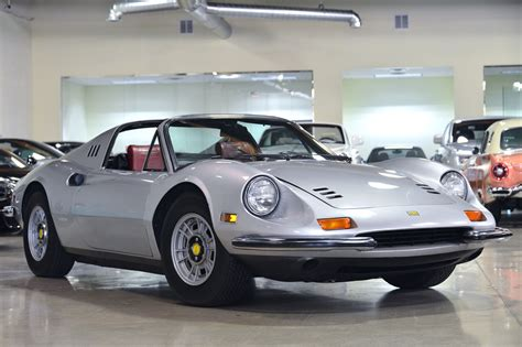 Apart from the longer body, the design was virtually identical, with just a longer engine cover and a repositioned fuel cap. 1973 Ferrari Dino 246 GTS Base 2.4L - Classic Ferrari DINO 1973 for sale