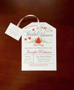 Tea Party Bridal Shower Invitation (style#2) #2402440 ...