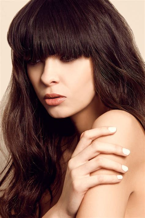 Hairstyles With Hair by Trendy Hairstyles With Bangs Fashion