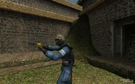 Funny Gold Deagle Skin For Counter Strike Source