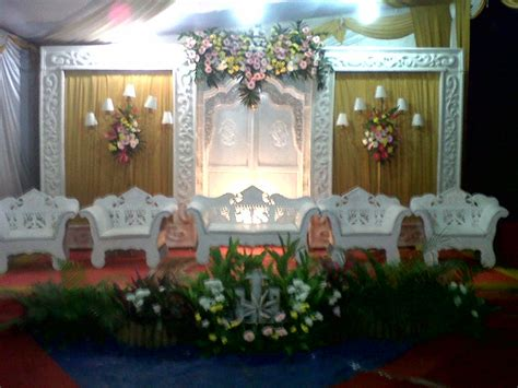 ide dekorasi pernikahan sederhana