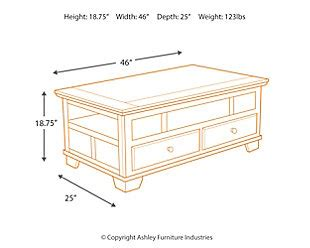 gately coffee table with lift top gately coffee table with lift top ashley furniture homestore