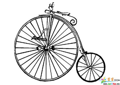 自行车简笔画图片(第2张