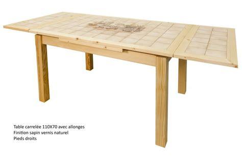 jbm bureau table de cuisine carrele avec rallonge meuble de salon