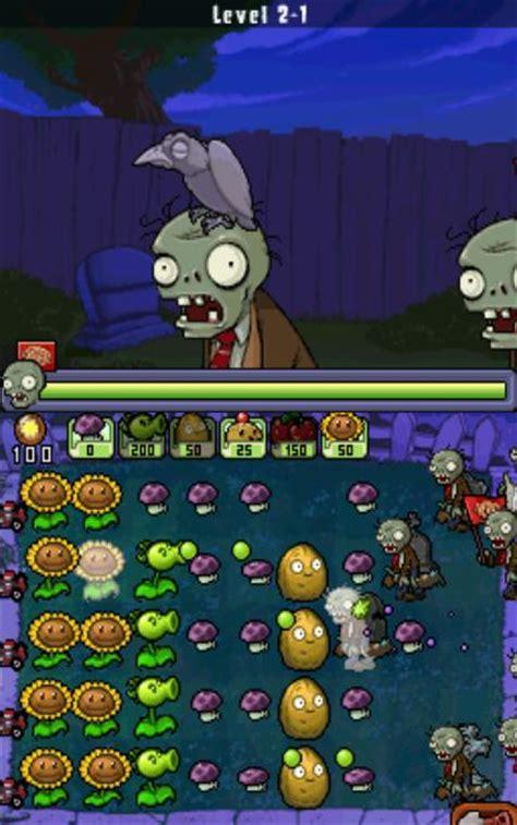 zombies plants vs ds rom nds uploaded pontinho