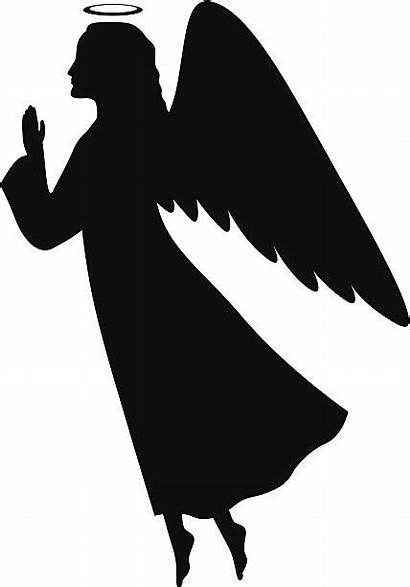 Angel Silhouette Clipart Clip Praying Engel Sanovnik