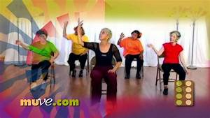 Dance, Along, Workout, For, Seniors, And, Elderly, -, Low, Impact, Dance, Exercise, On, Chairs