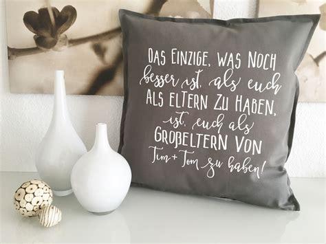 sofa sprueche kissen grosseltern mit namen geschenk oma opa