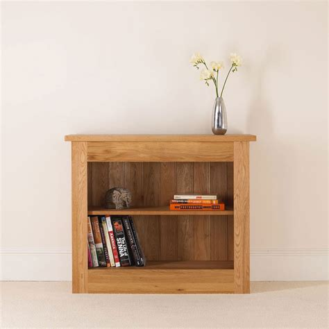 Oak Bookcase by Quercus Solid Oak Bookcase