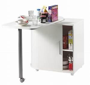Table D Appoint Cuisine : meuble appoint cuisine ~ Melissatoandfro.com Idées de Décoration