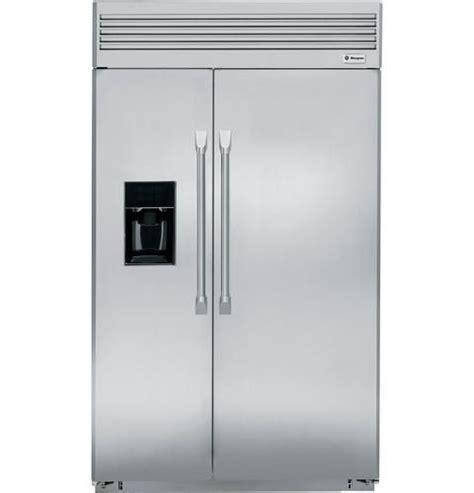 zispdxss  built  side  side refrigerator  dispenser  ge monogram coll