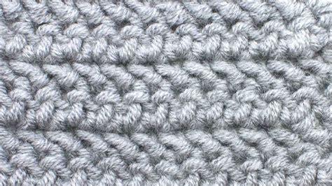 Herringbone Hdc (hhdc)  Crochet  New Stitch A Day