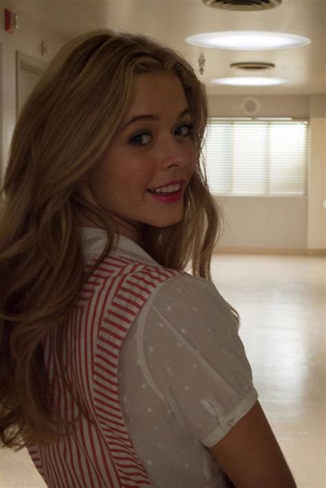 Sasha Pieterse played Alison DiLaurentis | Pretty little ...