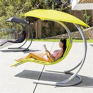 Fauteuil Jardin Suspendu : fauteuil suspendu brasilia vert balancelle eminza ~ Teatrodelosmanantiales.com Idées de Décoration