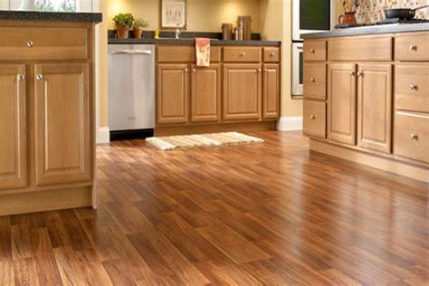 wooden floor for kitchen flooring options for your rental home which is best 1619