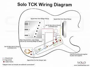 Fender Standard Telecaster Wiring Diagram