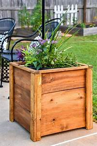 Diy, Wood, Planter, Box