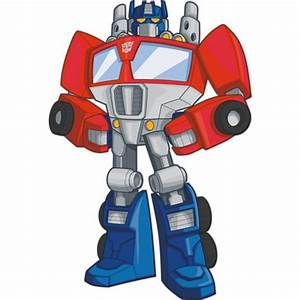 Optimus Prime Rescue Bots Wall Decal