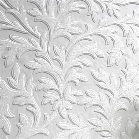 Textured Luxury Vinyl High Leaf Wallpaper At Gowallpaper Uk
