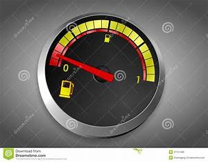 Fuel Tank Almost Empty Royalty Free Stock Image - Image ...