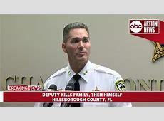 Florida sheriff's deputy kills family, alerts fellow