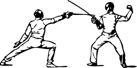 Fencing 2 Clip Art At Clker.com