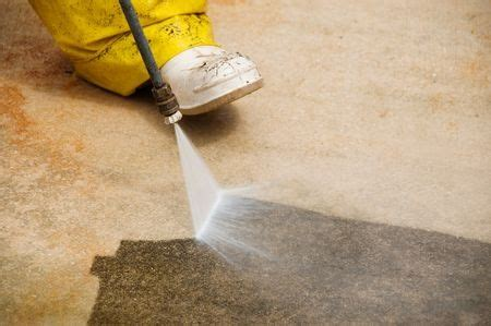 how to clean a concrete garage floor all garage floors