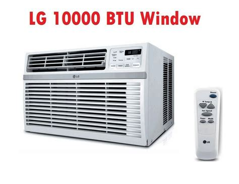 lg lwer btu air conditioner speed cooling remote